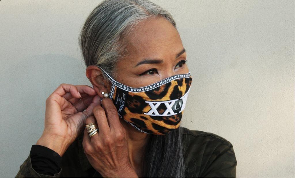 Mask Leopard Skin XXXX