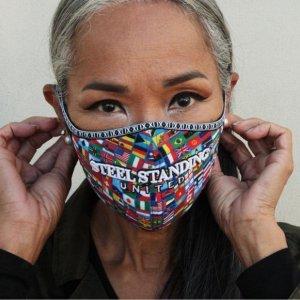 Mask Steel Standing United
