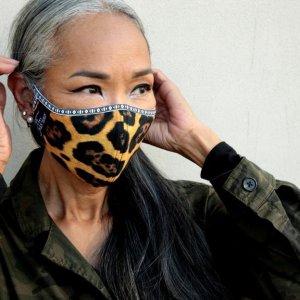 Mask Leopard Skin